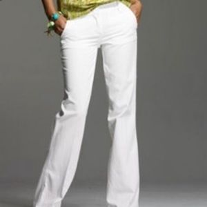 J. Crew City Fit White Pants